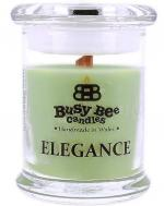 Busy Bee Candles Elegance praskajúca sviečka Green Tea And Lemongrass